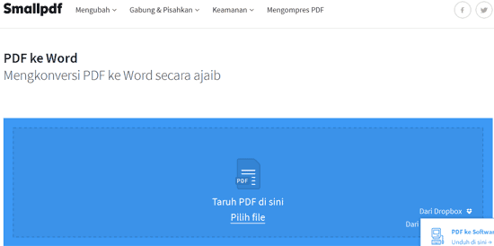www online convert pdf to word