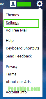 Setting Yahoo Mail
