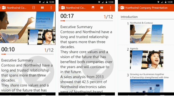 Kontrol Presentasi PowerPoint Dengan Office Remote for Android