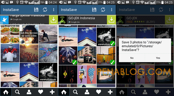 Cara Download Foto Instagram di HP Android