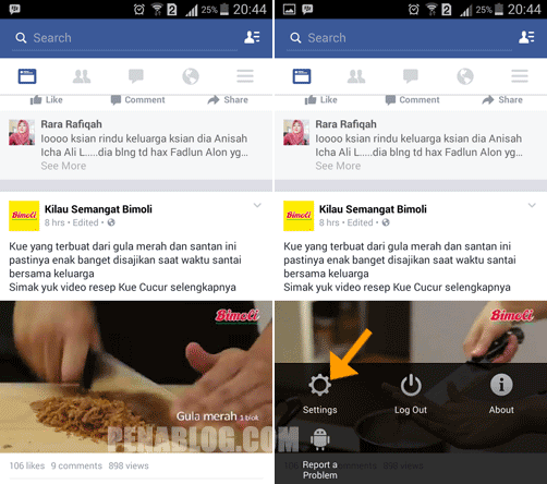 Cara Menonaktifkan Autoplay Video di Facebook Android